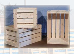 Wooden Box and Crates